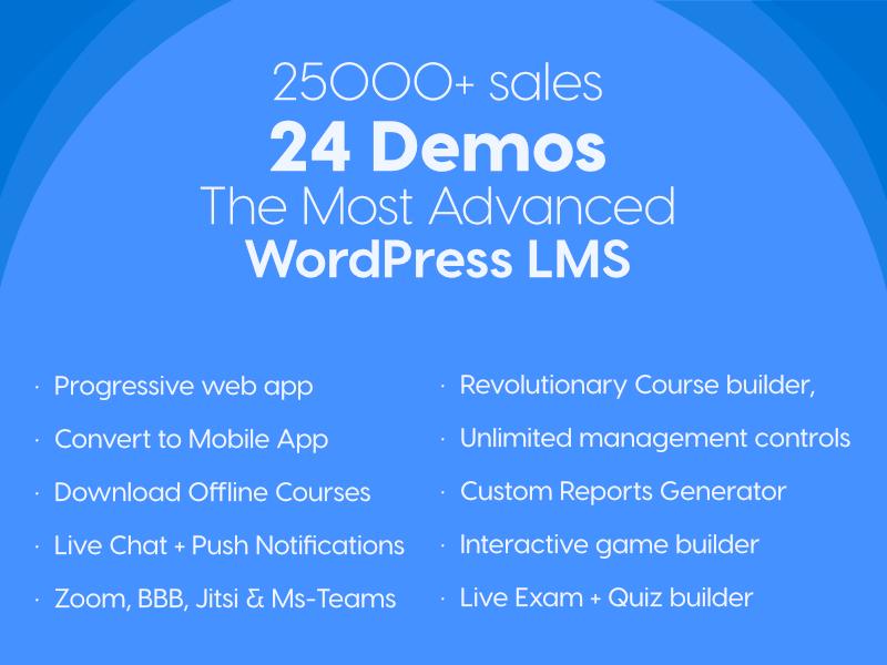 the most advanced wordpress lms